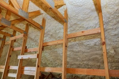 Spray Foam Insulation Attic Installation St. Louis, Missouri