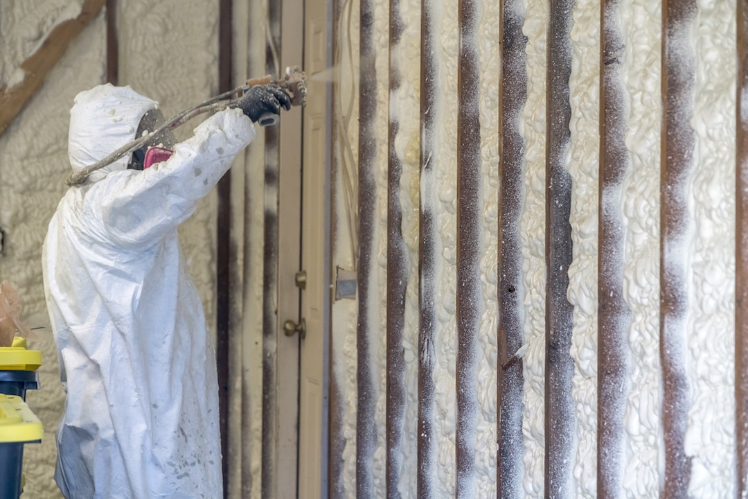 Attic Spray Foam Insulation Contractors St. Louis