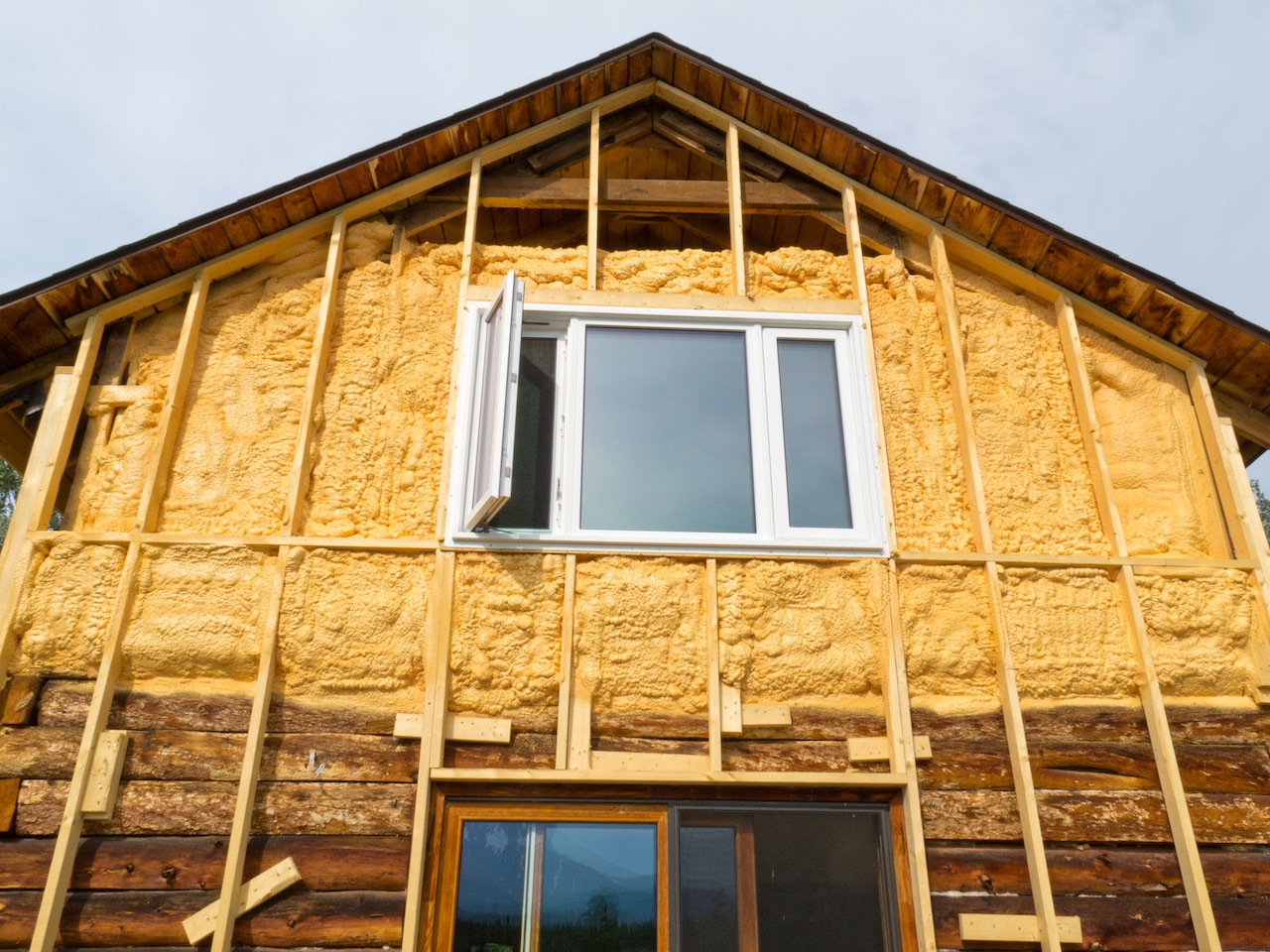 Spray Foam Insulation St. Louis Existing Home 01