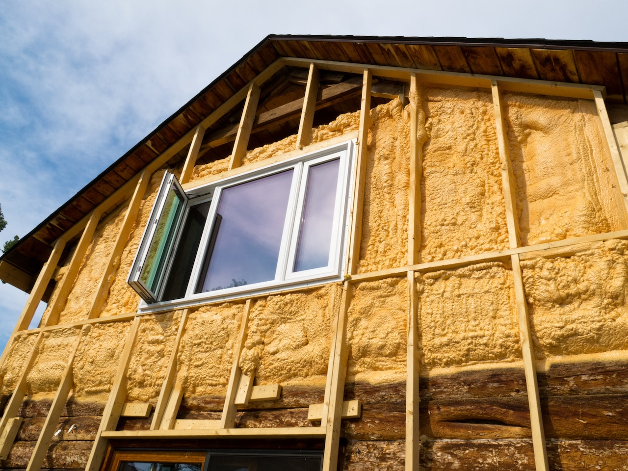Spray Foam Insulation St. Louis Existing Home 03