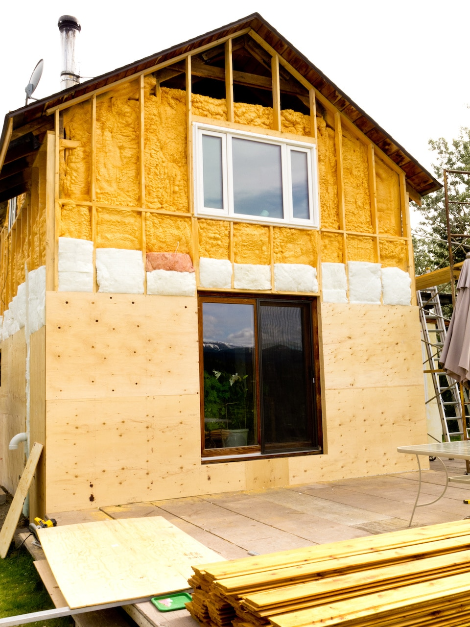 Spray Foam Insulation St. Louis Existing Home 06