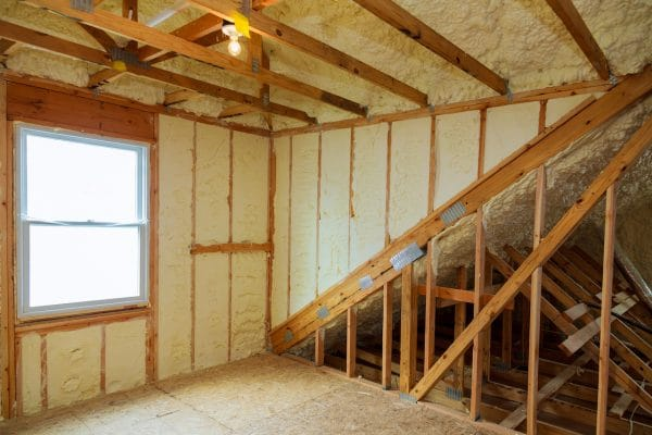 Spray Foam Insulation St. Louis New Construction